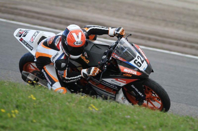 Vasco KTM RC390 Cup Zandvoort 2015 Foto Henk Teerink