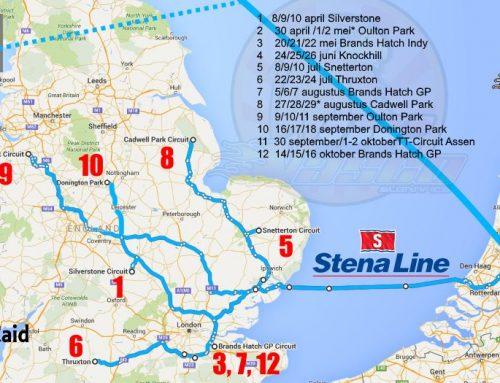 British Superbikes 2016 kalender