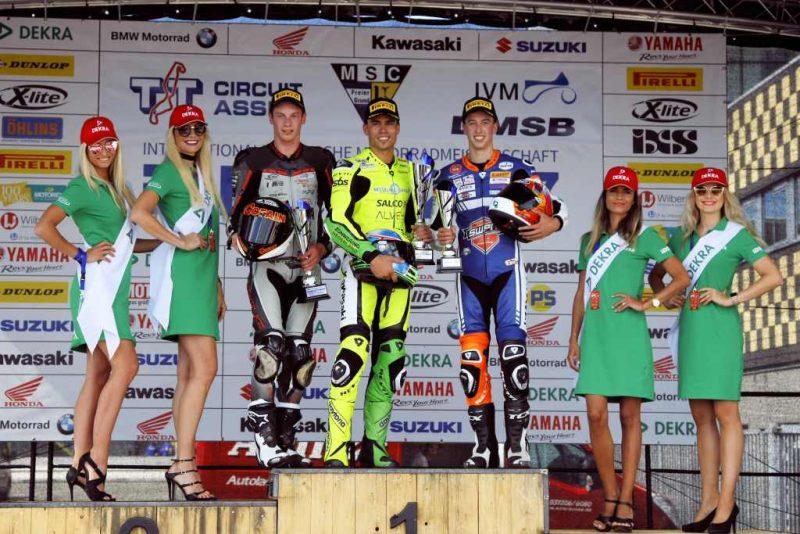 Podium IDM Assen 2017 Gradinger Hartog VanderValk Racesport