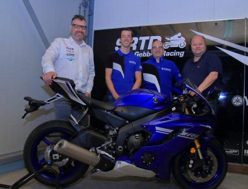 Vasco van der Valk in 2019 met Pearle Gebben Racing in IDM Supersport 600