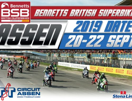 Wildcard in BSB British Supersport op TT Circuit Assen!