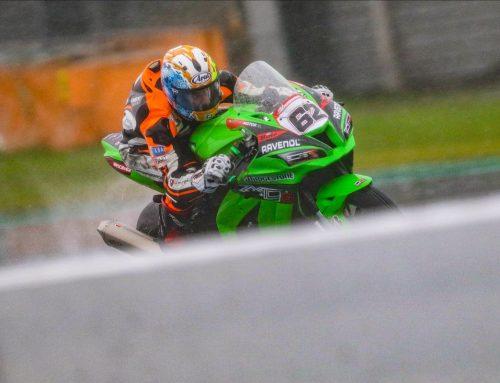 Van der Valk derde in zijn eerste regenrace op TT Circuit Assen