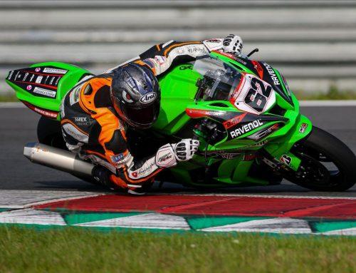 2021: met Druijff Racing Kawasaki in IDC ONK Dutch Superbike
