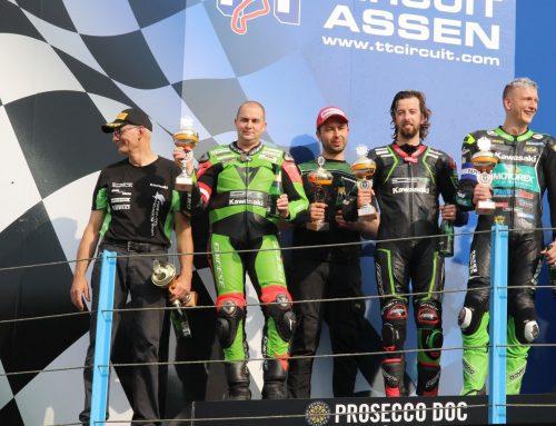Tweede in 501 van Assen met Druijff Racing Kawasaki!