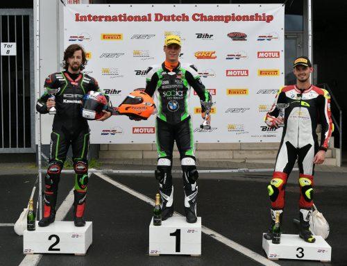 Vasco sluit IDC Superbike ronde Nürburgring ijzersterk af