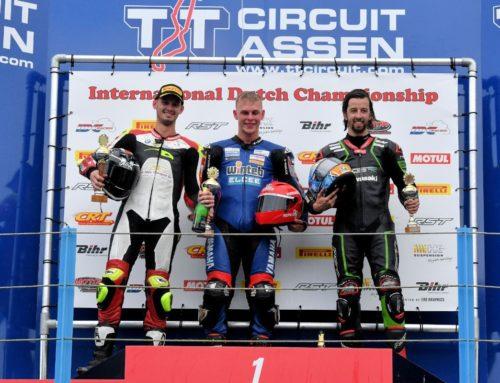 Dutch Superbikes: podium in de regen!